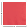 Coral Beverage Napkin 2Ply, 50 ct Party Decoration