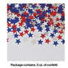 Patriotic Stars Confetti, 0.5 oz Party Decoration