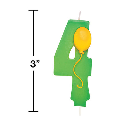#4 Balloon Candle Party Decoration
