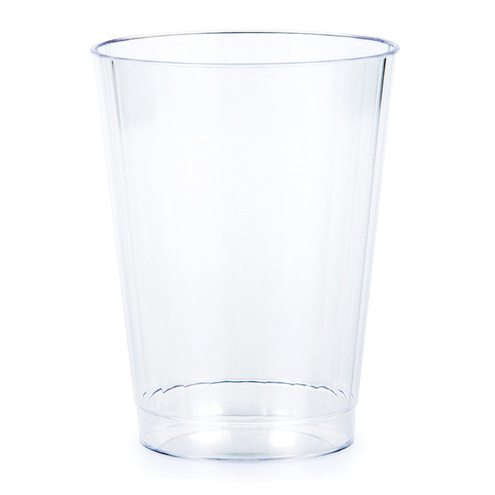 Clear Plastic Tumbler, 12 Oz, 8 ct by Creative Converting