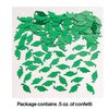 Emerald Green Mortarboard Graduation Confetti, 0.5 oz Party Decoration