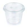 Clear 16Ct 5.5 Oz Portion Cups, Clear With Lid, 16 ct by Creative Converting