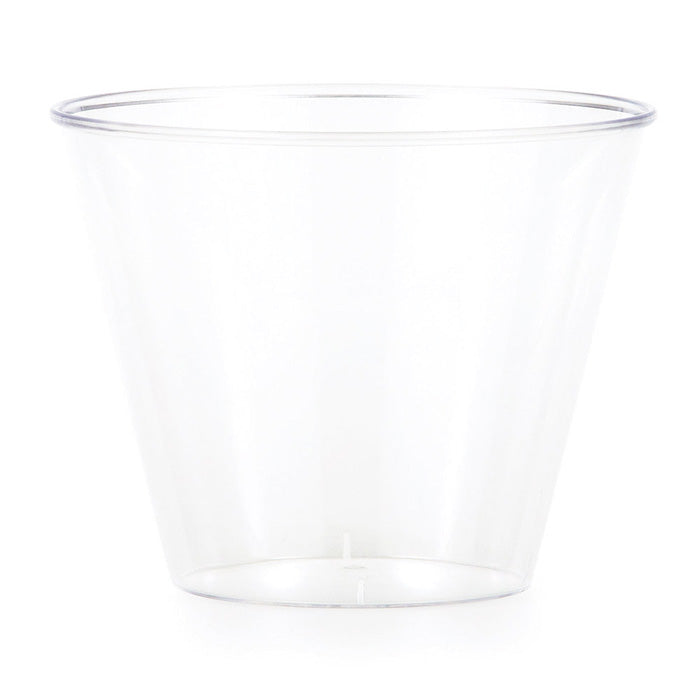Clear Plastic Glasses, 9 Oz, 8 ct by Creative Converting