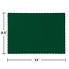 Hunter Green Placemats, 50 ct Party Decoration