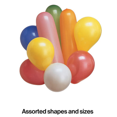 Assorted Shape Latex Balloons, 20 ct Party Decoration