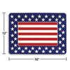 "Plastic Tray, Patriotic 12"" X 16"" Party Decoration"