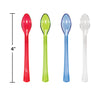 Assorted Color Mini Appetizer Spoons, 24 ct Party Supplies