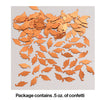 Orange Mortarboard Graduation Confetti, 0.5 oz Party Decoration
