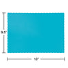 Bermuda Blue Placemats, 50 ct Party Decoration