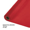 "Classic Red Banquet Roll 40"" X 100' Party Decoration"