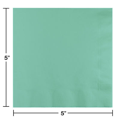 Fresh Mint Green Beverage Napkins, 20 ct Party Decoration