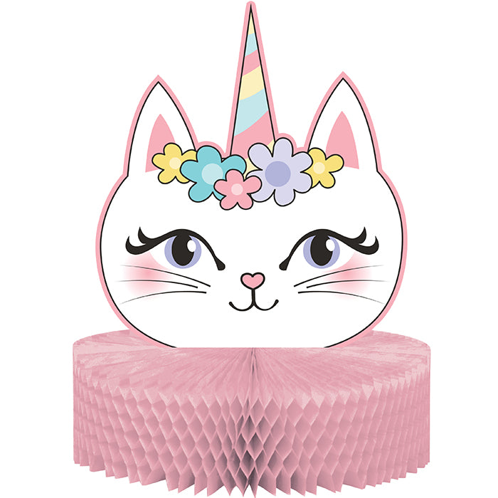 Sassy Caticorn Centerpiece Hc Shaped by Creative Converting