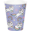 Sassy Caticorn Hot/Cold Cups 9Oz. 8ct by Creative Converting