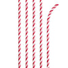 Classic Red Striped Paper Straws, 24 ct by Creative Converting