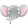Enchanting Elephants Girl Metallic Balloon by Creative Converting