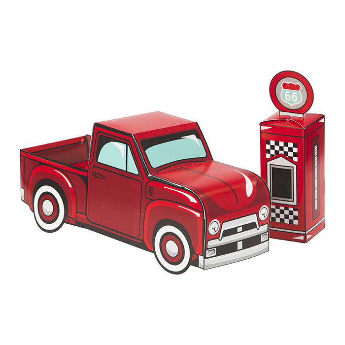 Vintage Red Truck Centerpiece by Creative Converting