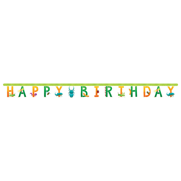 Birthday Bugs Jointed Banner Lg by Creative Converting