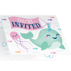 Narwhal Party Invitation Foldover 8ct by Creative Converting