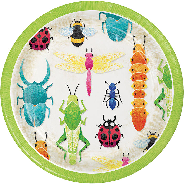 Birthday Bugs Luncheon Plate 8ct by Creative Converting