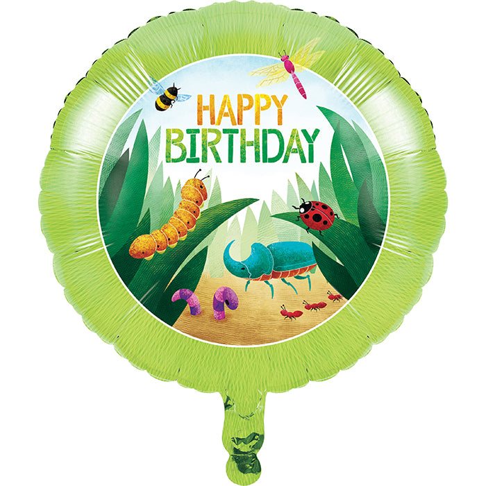 "Birthday Bugs Metallic Balloon 18"" by Creative Converting"