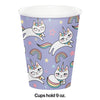Sassy Caticorn Hot/Cold Cups 9Oz. 8ct Party Decoration
