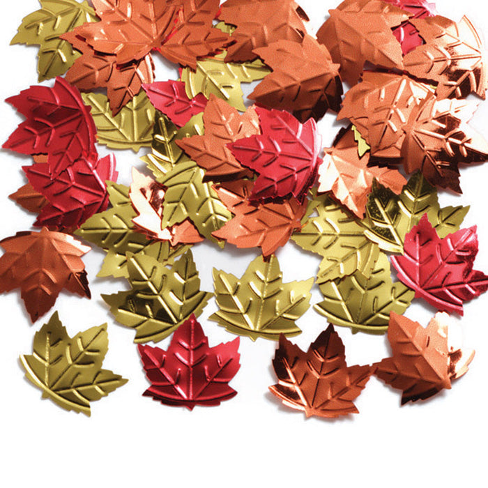 Maple Leaf Confetti, 0.5 oz by Creative Converting