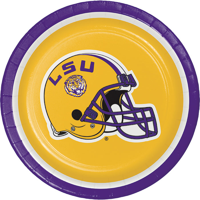 Louisiana State University Dessert Plates, 8 ct by Creative Converting