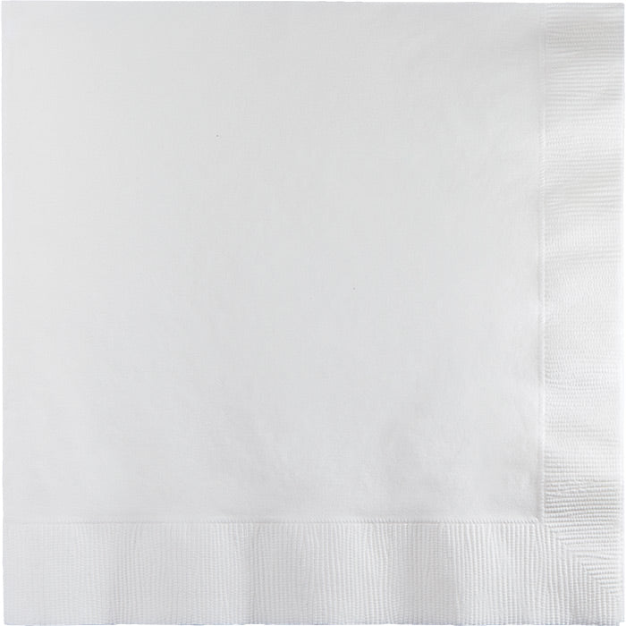 White Luncheon Napkin 2Ply, 50 ct by Creative Converting