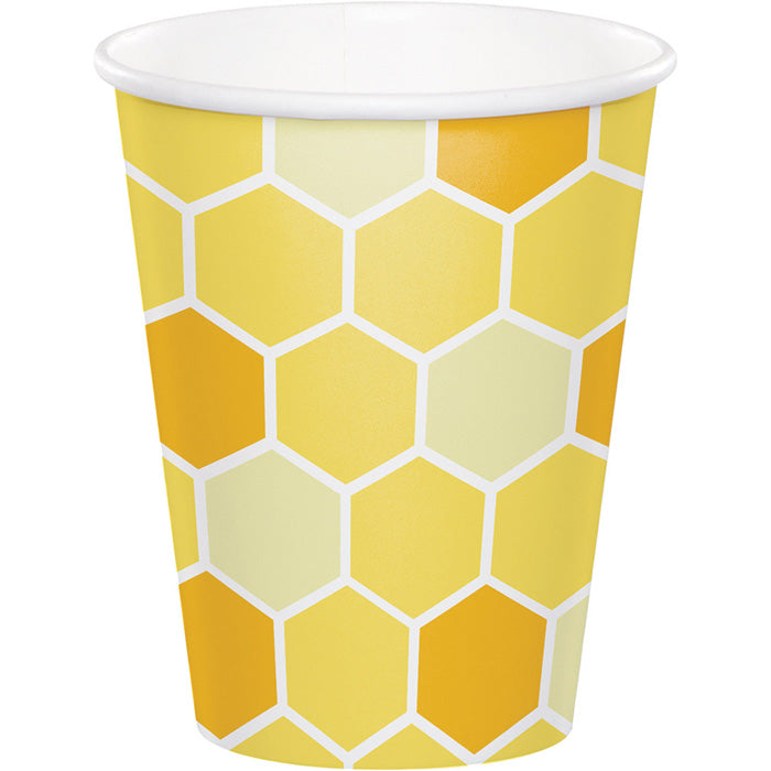 Bumblebee Baby Hot/Cold Paper Cups 9 Oz., 8 ct by Creative Converting