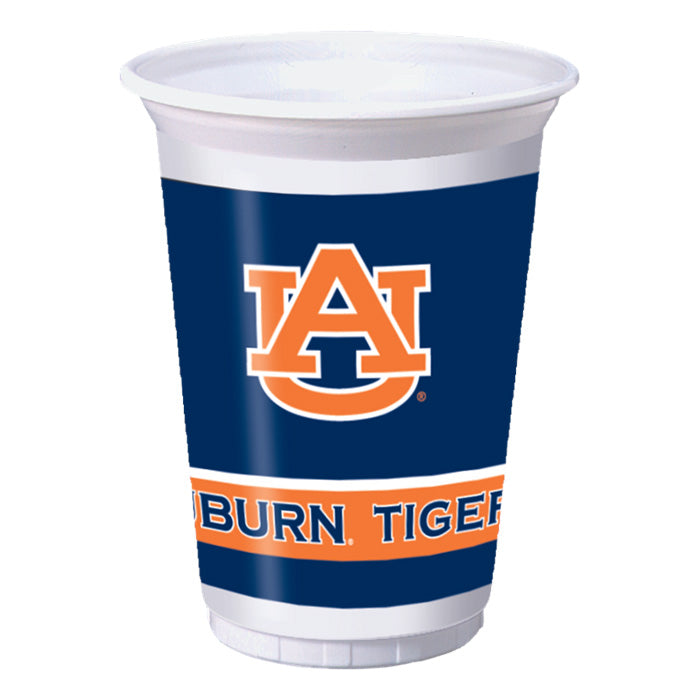 Auburn University 20 Oz Plastic Cups, 8 ct by Creative Converting
