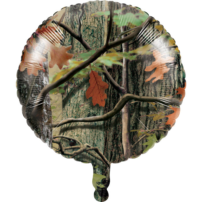 "Hunting Camo Metallic Balloon 18"" by Creative Converting"