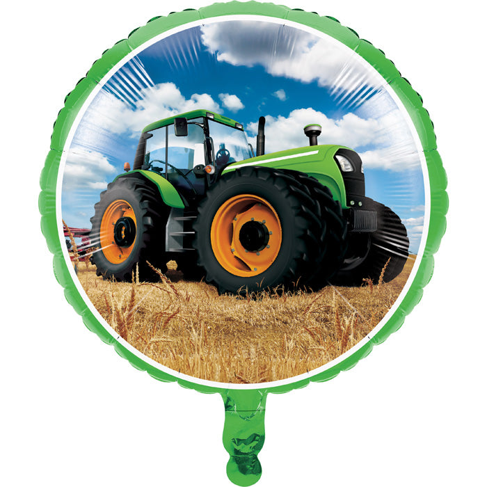 "Tractor Time Metallic Balloon 18"" by Creative Converting"