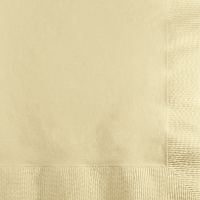 Ivory Beverage Napkin 2Ply, 200 ct by Creative Converting