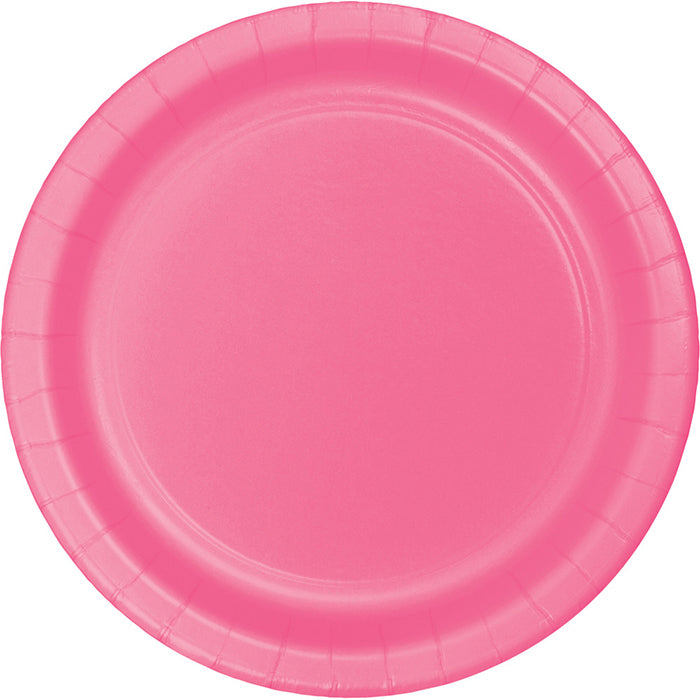 Candy Pink Paper Plates, 8 ct by Creative Converting