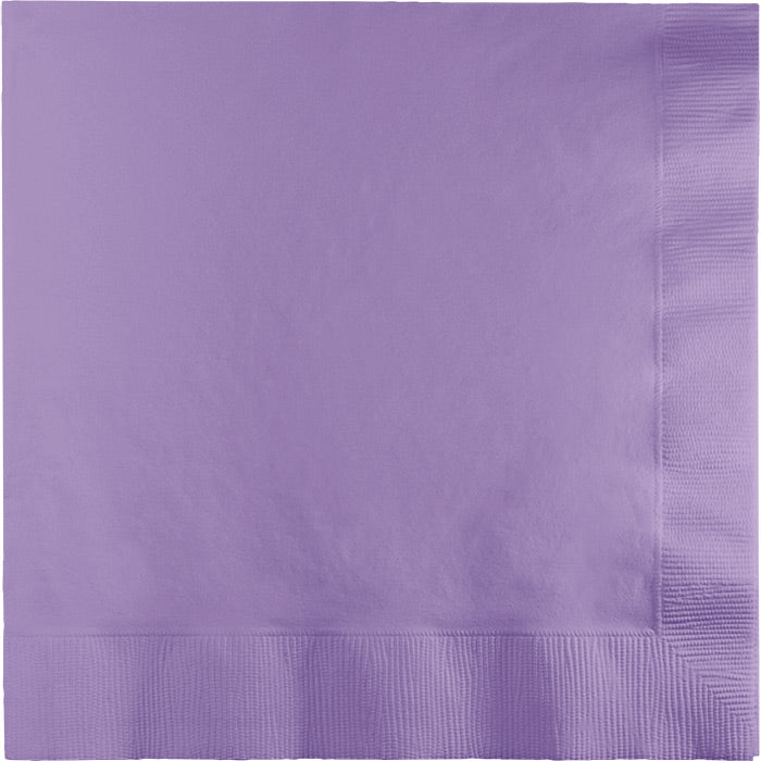 Luscious Lavender Luncheon Napkin 2Ply, 50 ct by Creative Converting