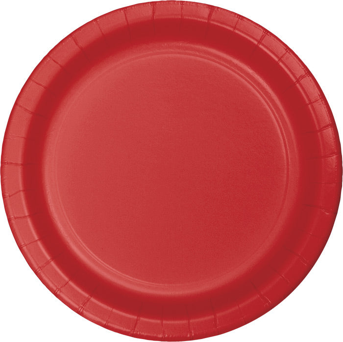 Classic Red Paper Plates, 24 ct by Creative Converting