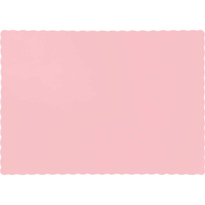Classic Pink Placemats, 50 ct by Creative Converting