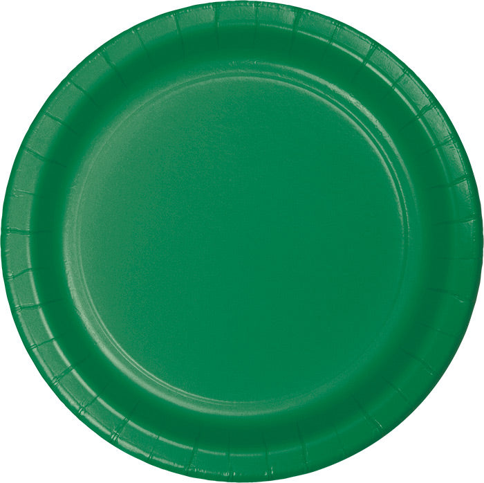 Emerald Green Paper Plates, 24 ct by Creative Converting
