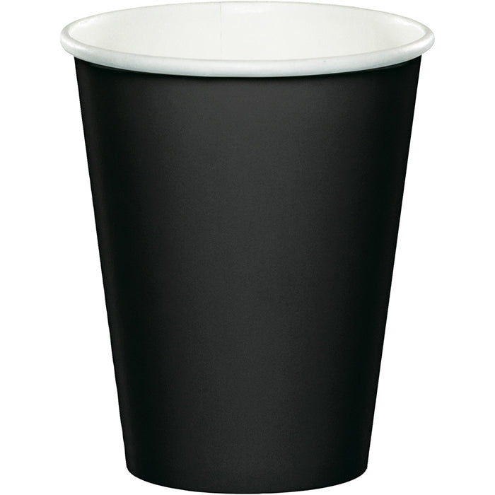 Black Velvet Hot/Cold Paper Cups 9 Oz., 8 ct by Creative Converting