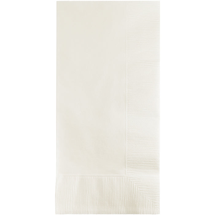 White Dinner Napkins 2Ply 1/8Fld, 100 ct by Creative Converting