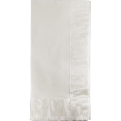 White Dinner Napkins 2Ply 1/8Fld, 50 ct by Creative Converting