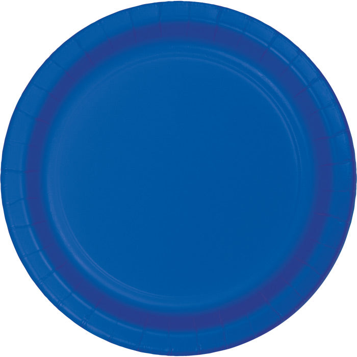 Cobalt Blue Paper Plates, 24 ct by Creative Converting