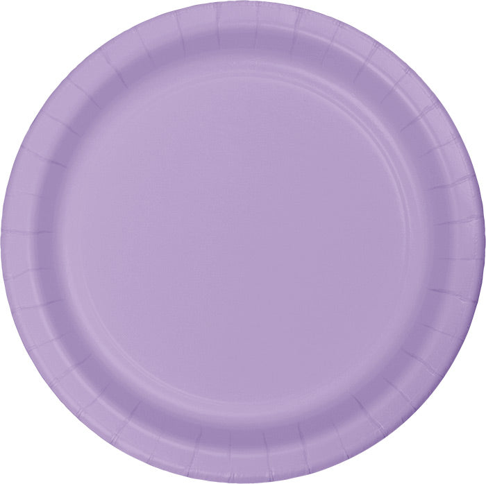 Luscious Lavender Purple Paper Plates, 24 ct by Creative Converting