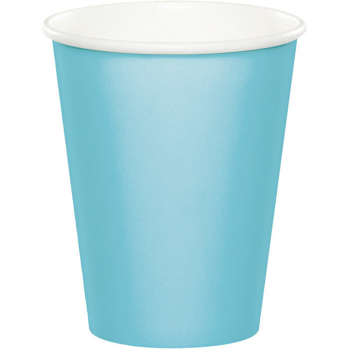 Pastel Blue Hot/Cold Paper Paper Cups 9 Oz., 24 ct by Creative Converting