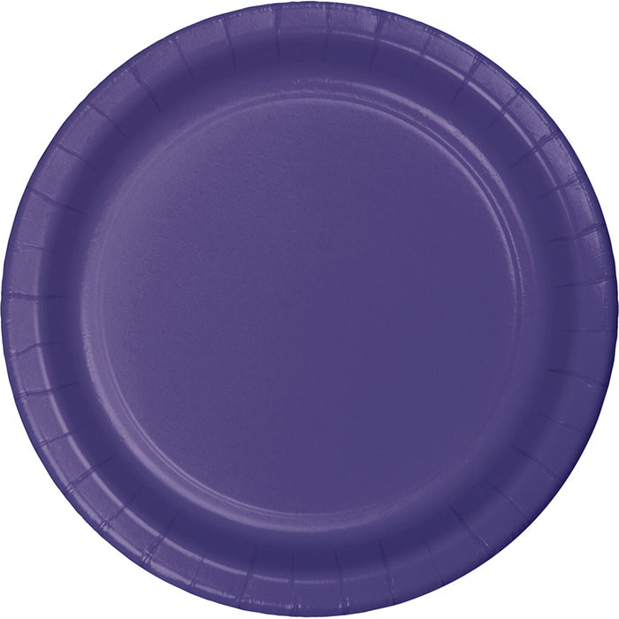 Purple Paper Plates, 8 ct by Creative Converting