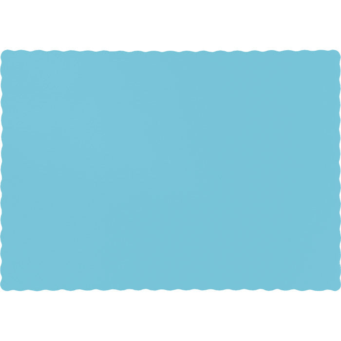 Pastel Blue Placemats, 50 ct by Creative Converting