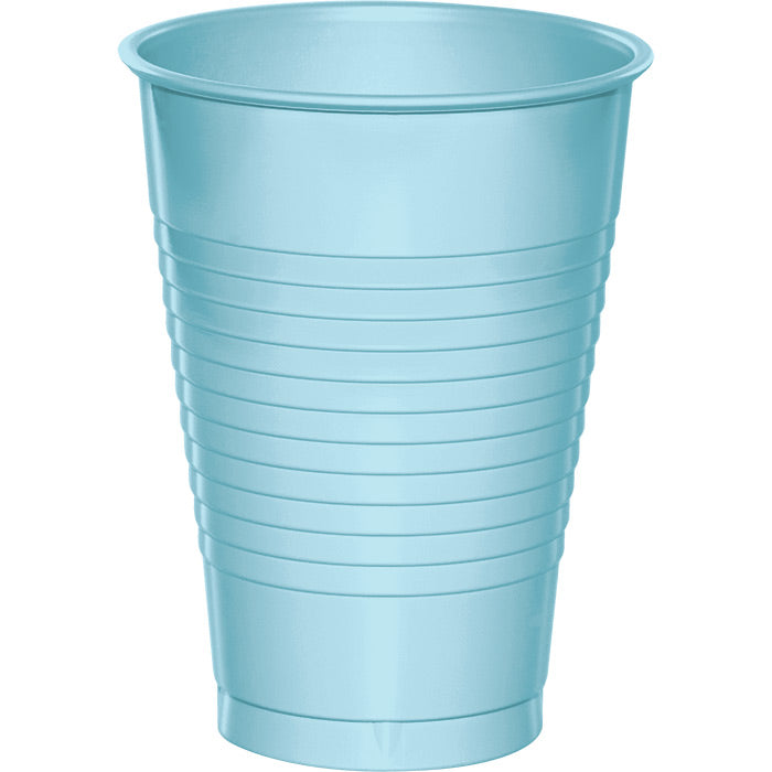 Pastel Blue 12 Oz Plastic Cups, 20 ct by Creative Converting