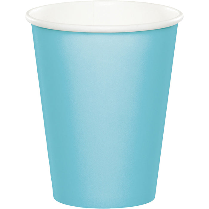 Pastel Blue Hot/Cold Paper Paper Cups 9 Oz., 8 ct by Creative Converting