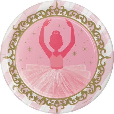 Ballet Paper Plates, 8 ct by Creative Converting