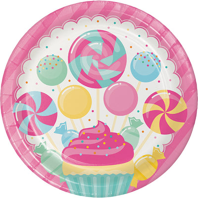 Candy Bouquet Paper Plates, 8 ct by Creative Converting